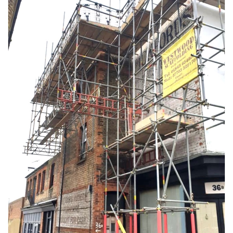 Commercial Scaffolding Gallery Image - WestWood Scaffolding Ltd