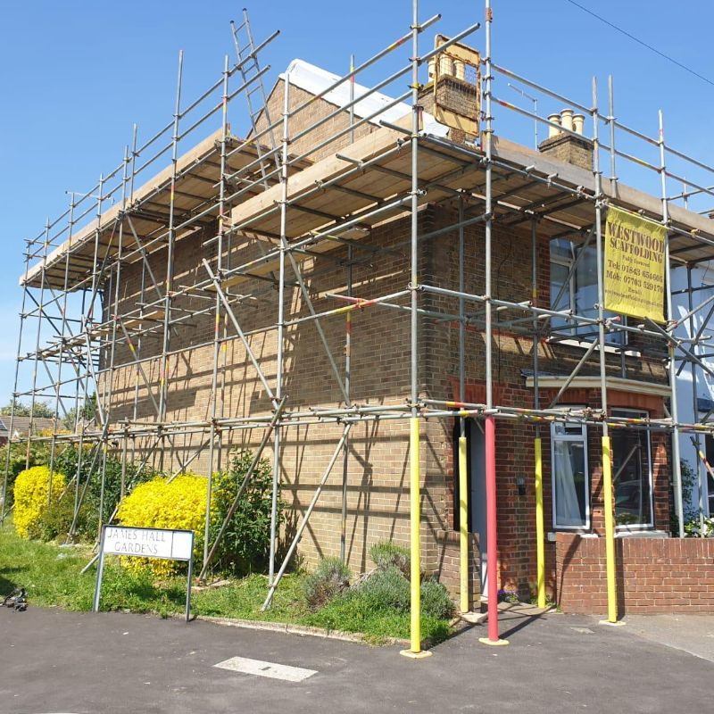 Domestic Scaffolding Cover Photo - WestWood Scaffolding Ltd