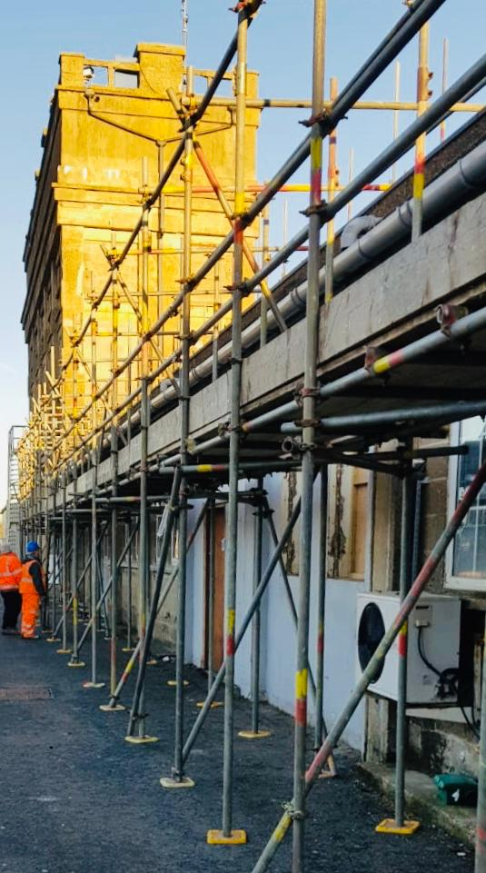 Railway and Underground Gallery Image - WestWood Scaffolding Ltd